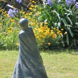 There is a sculpture by Annie Henry in our sunken garden