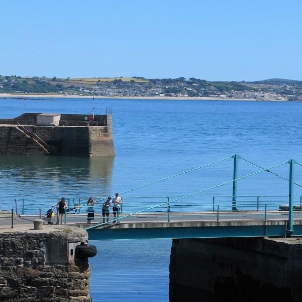 A view across penzace harbour