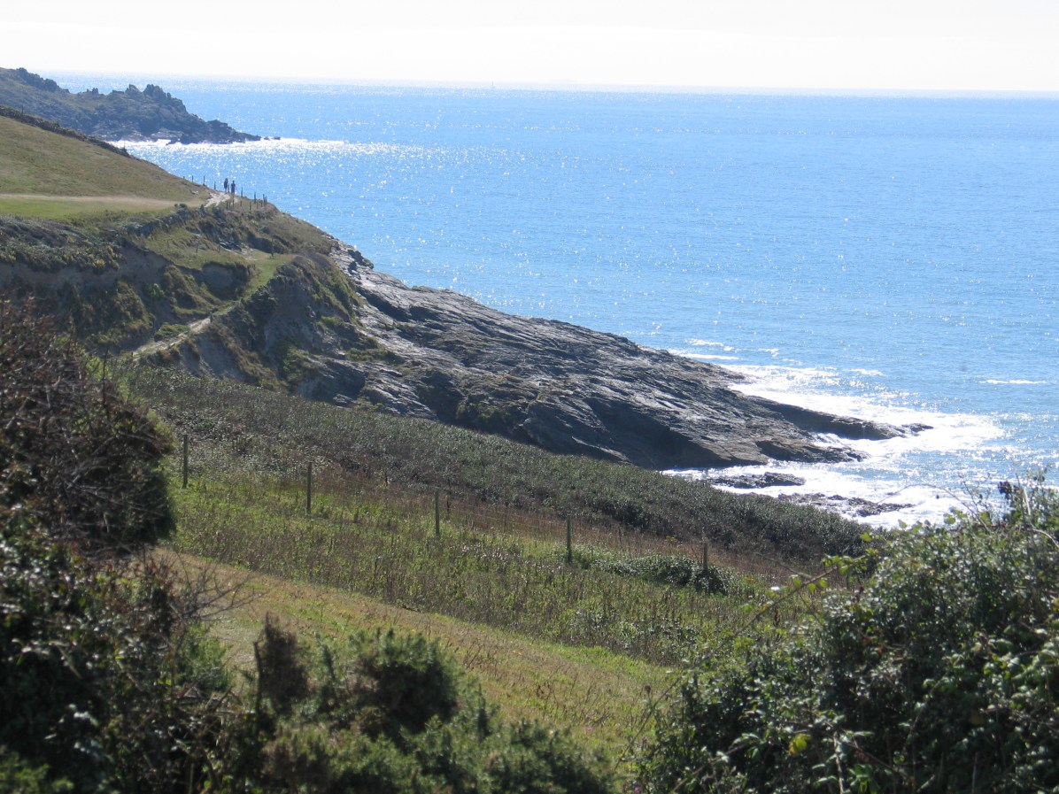 The coastal footpath that snakes around Mounts bay - great for really experiencing Cornwall