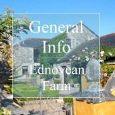 General info about Ednovean Farm - traditional farmhouse
