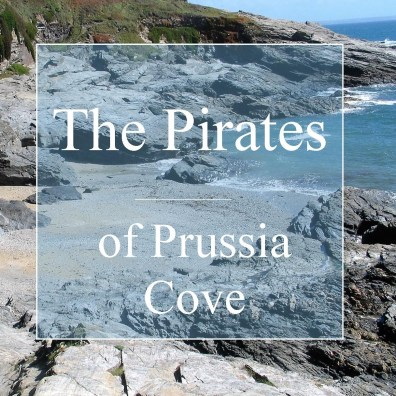 The pirates of Prussia cove Sandy cove at low tide