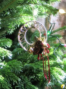 Vintage Christmas ornament for an antique fell