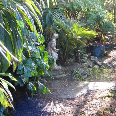 February garden border