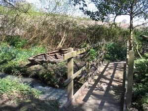 pilgrims footbridge