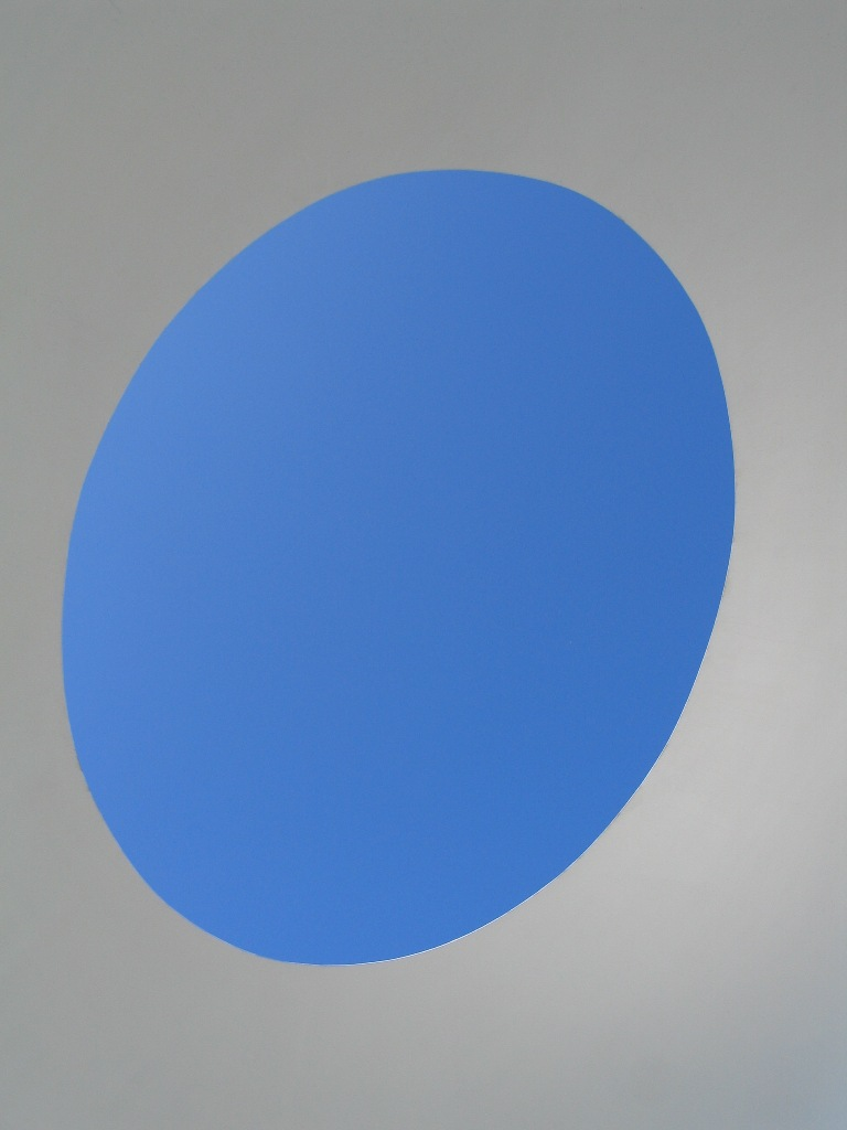 perfect blue sky framed by james turrell's building