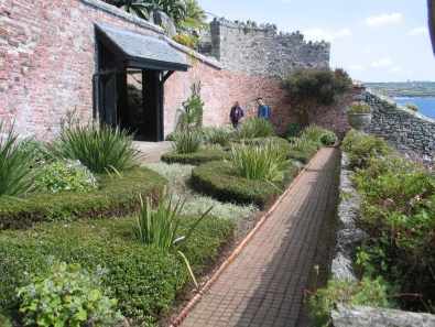 The walle garden st michael's mount