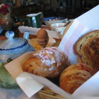 Breakfast croisants