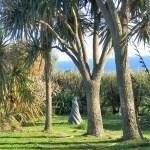 The ble se wraps itself around the coastal garden