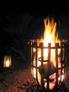 winter fire - Hygge for the garden