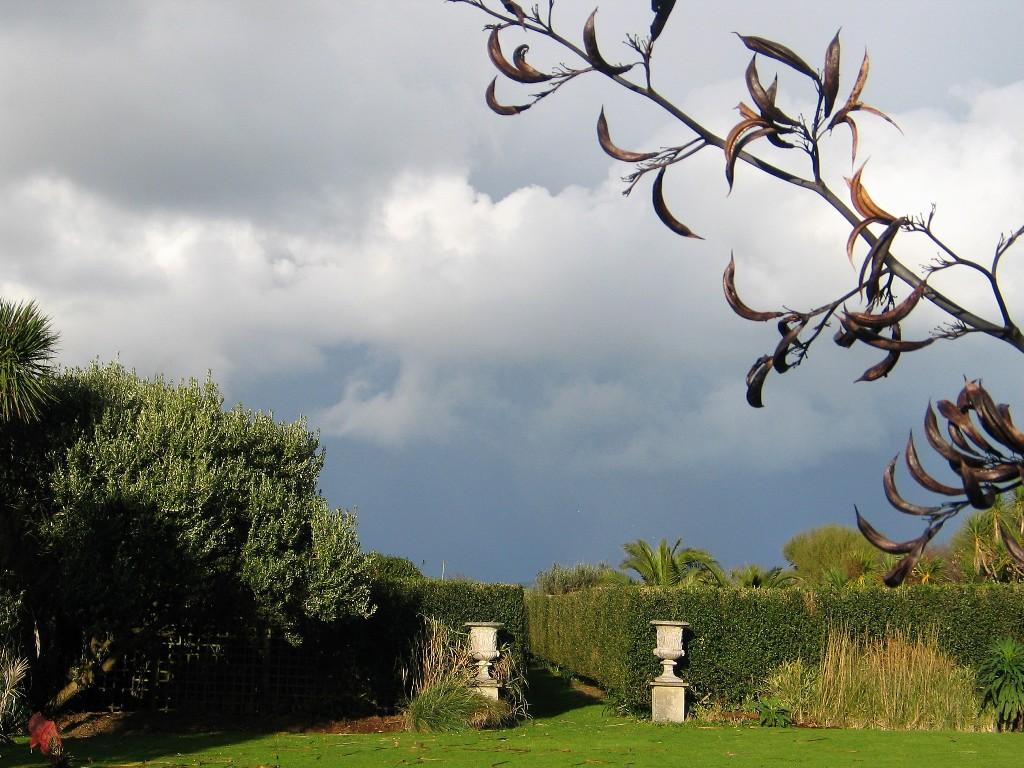 November's dramatic skies