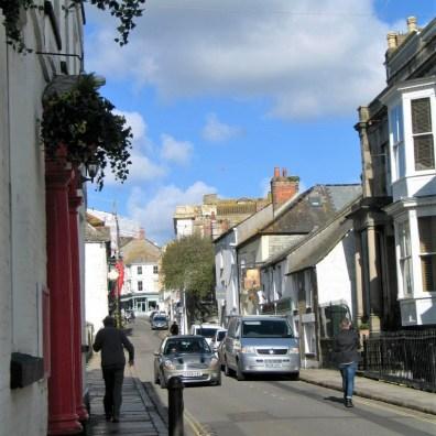 Chapel Street in Penzance