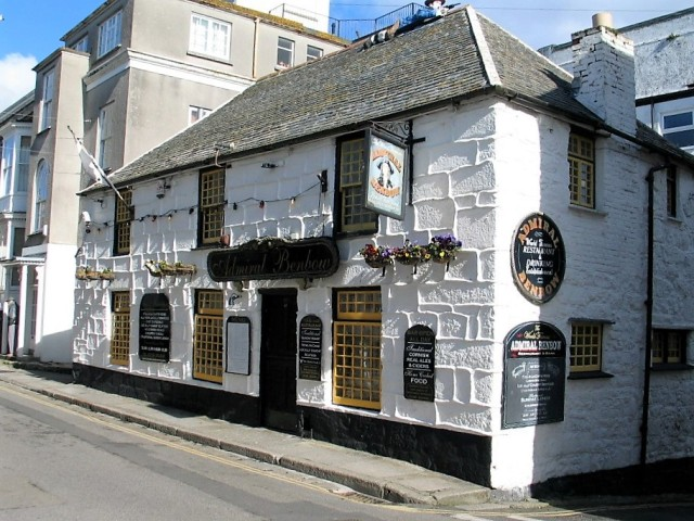 The Admiral Benbow with a smuglers tunnel to the sea