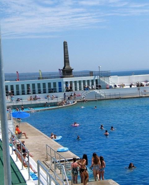 Art Deco pool - Penzance