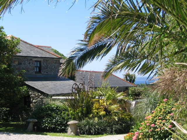 Granite farmhouse, subtropical garden, sea view - Ednovean Farm