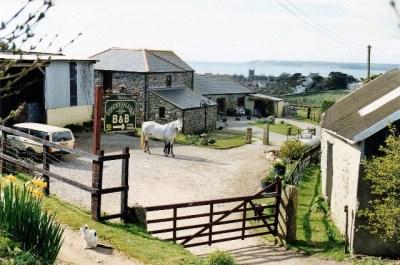 early photo of Ednovean Farm