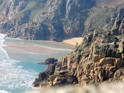 Rugged cliffs - west cornwall