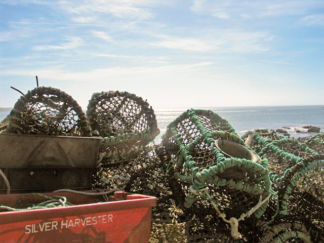 lobster pots - Priests cove Cape Cornwall