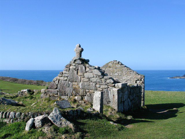 Ruined chapel - st helen's oratory