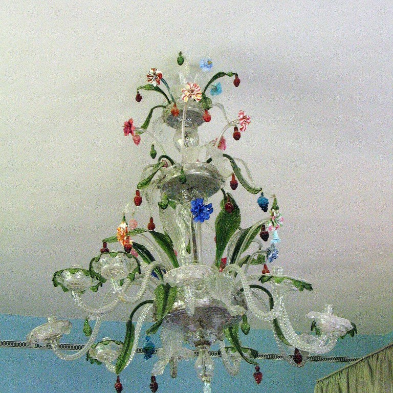 Fabulous antique chandelier