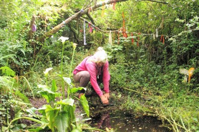 explore Madron sacred well