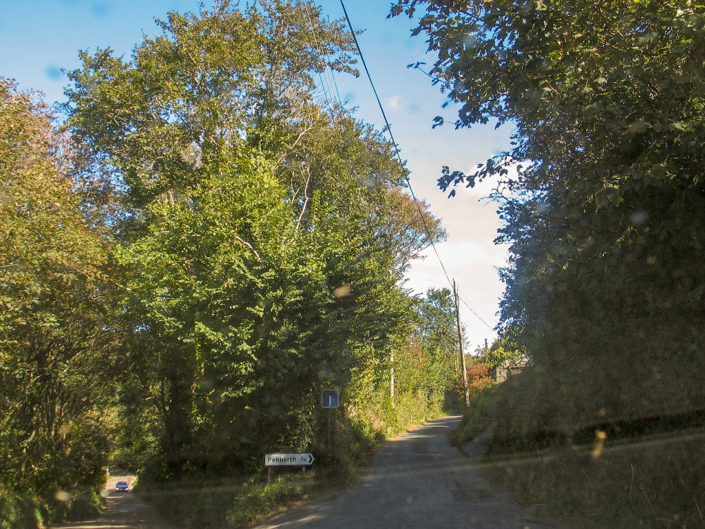 Lane to Penberth Cove