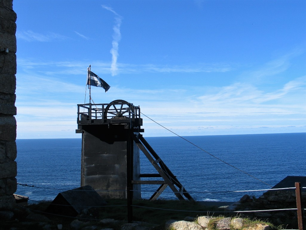 Levant Mine - site of a Man Engine disaster