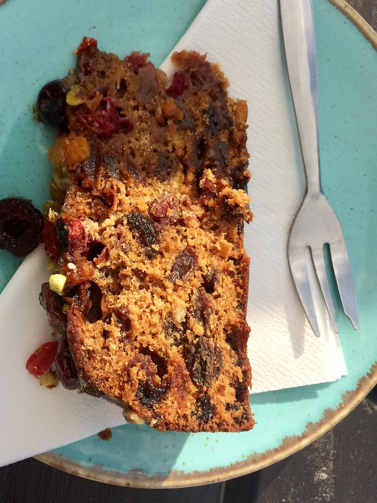 sunset surf cafe - fruit cake