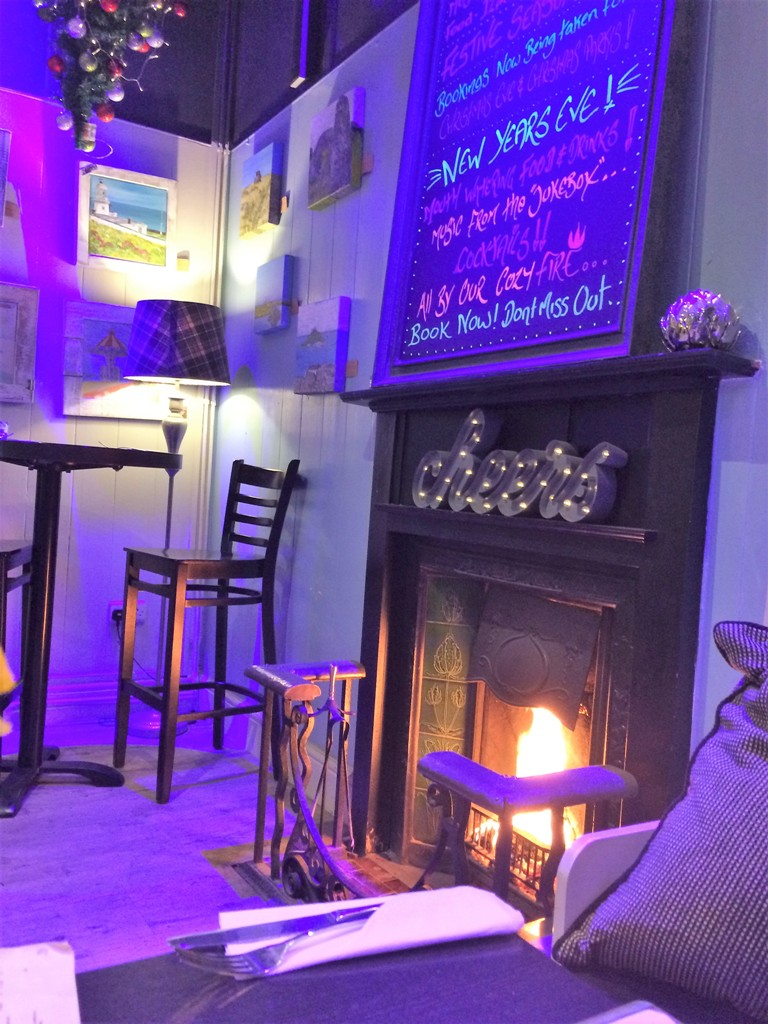 Black's restarant interior - places to eat in Penzance
