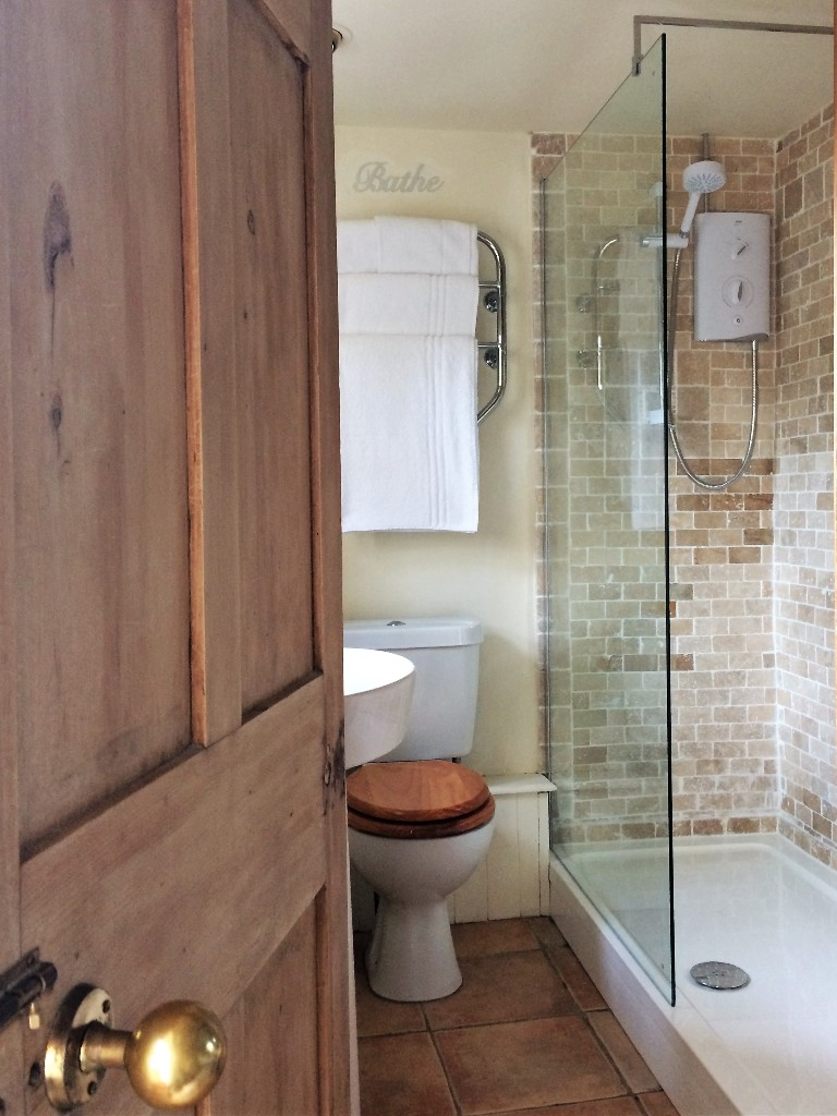The Apricot Bedroom is ready for 2020 with a new walk in shower