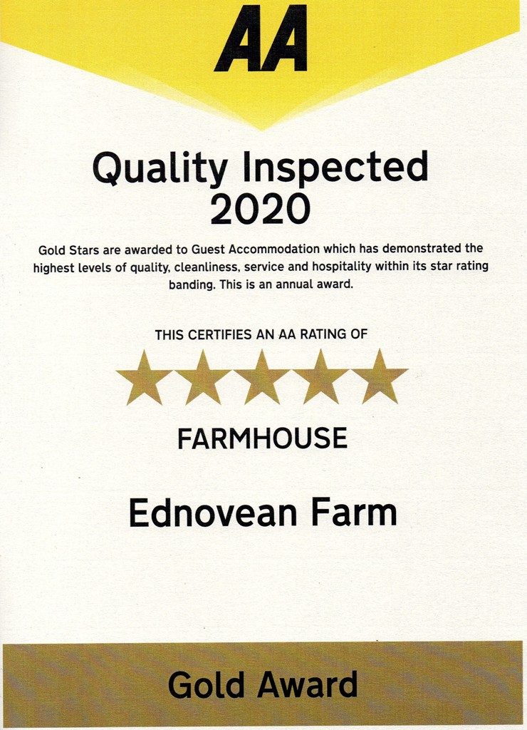 Ednovean Farm 5 star gold B&B