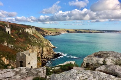 Autumn walk Rinsey to Wheal Trewavas