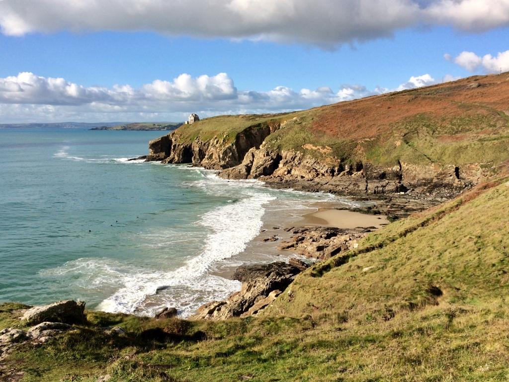 Walking Mounts Bay - Rinsey beach