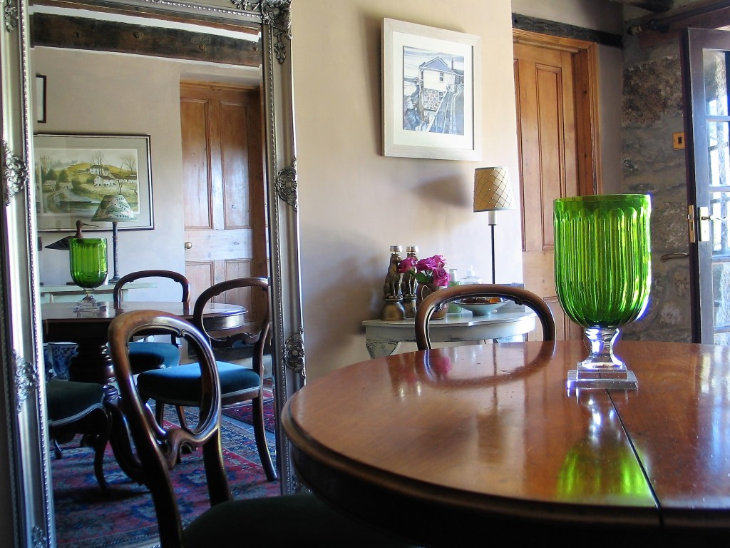 A Victorian breakfast table was a sale room find