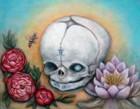 I want you skulls show, MF gallery Brooklyn and Genova