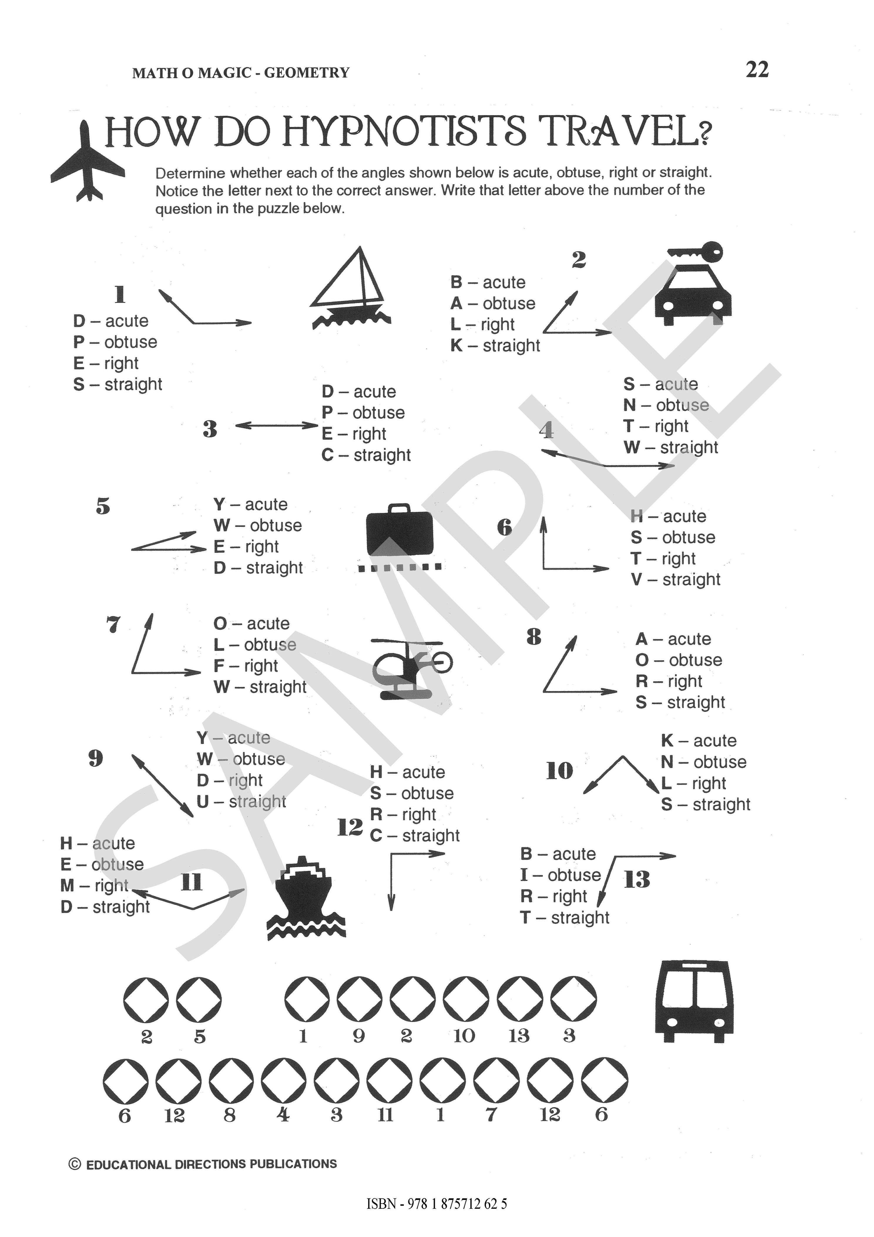 Math O Magic Geometry Ed Publications