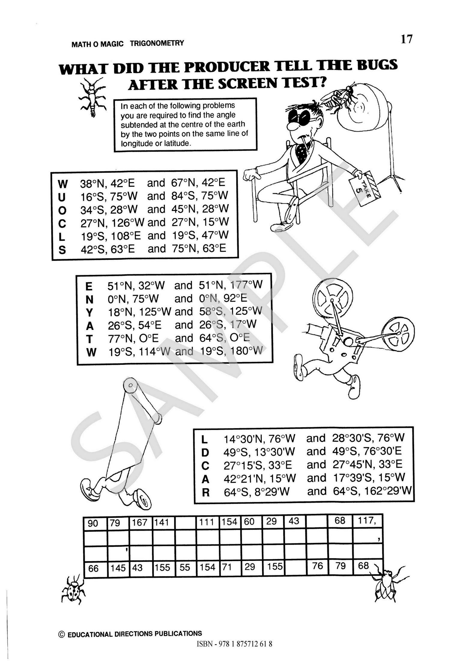 Math O Magic Trigonometry Ed Publications