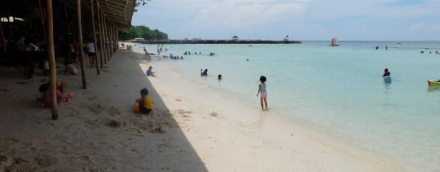 Beach front Paradise Island Samal Davao