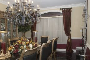 Pleated panels with valance top alterations 06