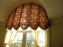 Balloon Valance for Arch Window 02