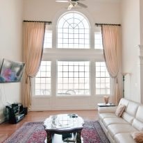 Goblet pleated drapes 02