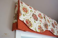 Valances with decorative overlay 03