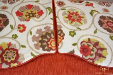 Valances with decorative overlay 02