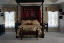 Bedroom valances with decorative overlays alterations 02