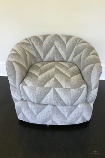 Custom upholstered armchair 04