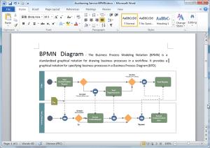 BPMN Diagram Templates for Word