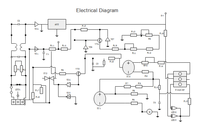 Free Electrical Diagram Templates