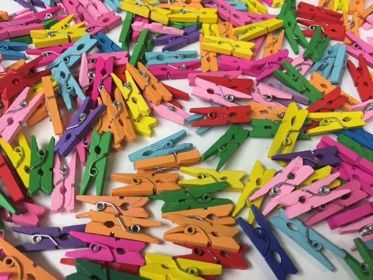04. Clothespins
