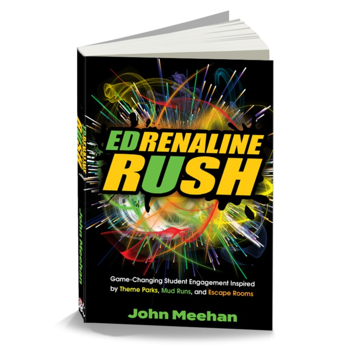 EDRush cover 3d web white