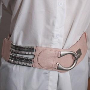 ceinture rose e dressing des copines
