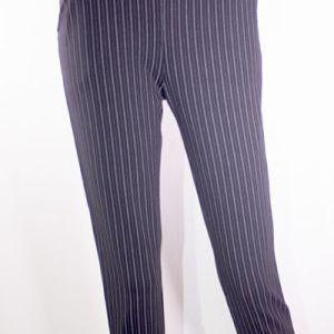 pantalon rayé noir e-dressong des copines